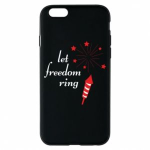 Etui na iPhone 6/6S Let freedom ring