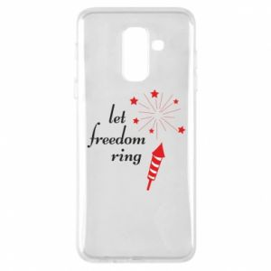 Etui na Samsung A6+ 2018 Let freedom ring