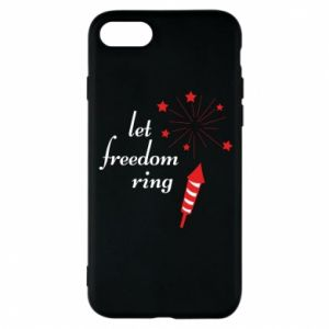 iPhone 8 Case Let freedom ring