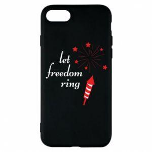 Etui na iPhone 8 Let freedom ring