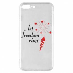 Etui na iPhone 8 Plus Let freedom ring