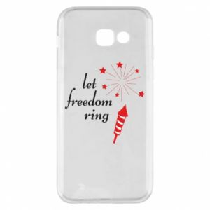 Etui na Samsung A5 2017 Let freedom ring