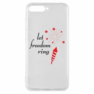 Huawei Y6 2018 Case Let freedom ring