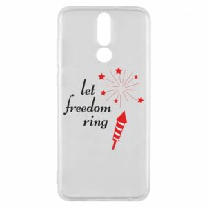Huawei Mate 10 Lite Case Let freedom ring