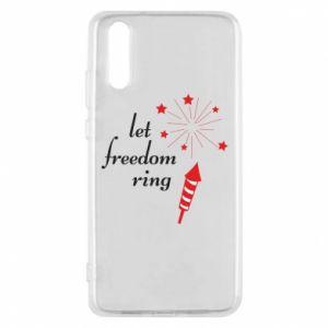 Etui na Huawei P20 Let freedom ring