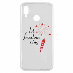 Etui na Huawei P20 Lite Let freedom ring