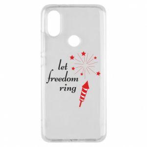 Etui na Xiaomi Mi A2 Let freedom ring
