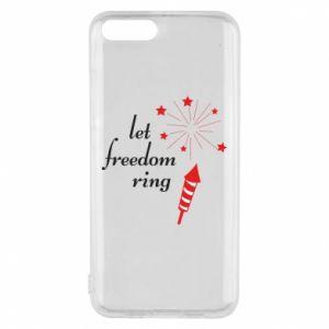 Etui na Xiaomi Mi6 Let freedom ring
