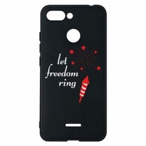 Etui na Xiaomi Redmi 6 Let freedom ring