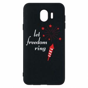 Etui na Samsung J4 Let freedom ring