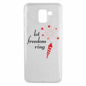 Etui na Samsung J6 Let freedom ring