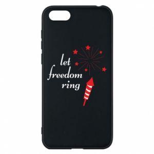 Etui na Huawei Y5 2018 Let freedom ring