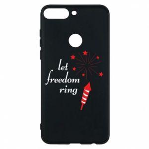 Etui na Huawei Y7 Prime 2018 Let freedom ring