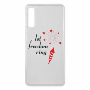 Etui na Samsung A7 2018 Let freedom ring