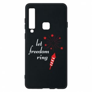 Etui na Samsung A9 2018 Let freedom ring
