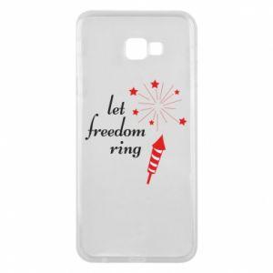 Etui na Samsung J4 Plus 2018 Let freedom ring