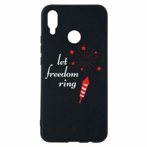 Etui na Huawei P Smart Plus Let freedom ring