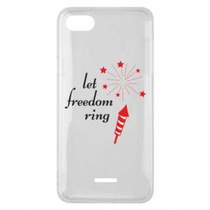 Etui na Xiaomi Redmi 6A Let freedom ring