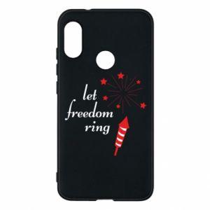 Etui na Mi A2 Lite Let freedom ring