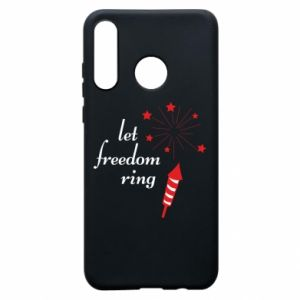 Etui na Huawei P30 Lite Let freedom ring