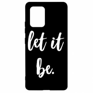 Etui na Samsung S10 Lite Let it be