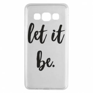 Etui na Samsung A3 2015 Let it be