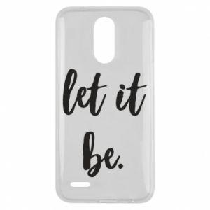 Etui na Lg K10 2017 Let it be