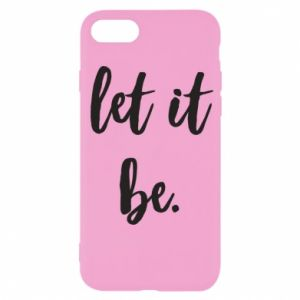 Etui na iPhone SE 2020 Let it be