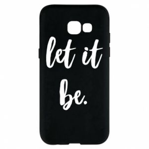 Etui na Samsung A5 2017 Let it be