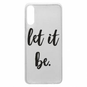 Etui na Samsung A70 Let it be