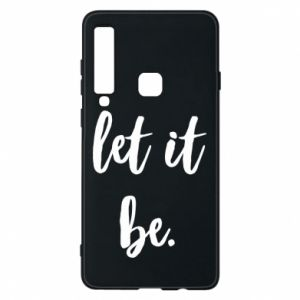 Etui na Samsung A9 2018 Let it be