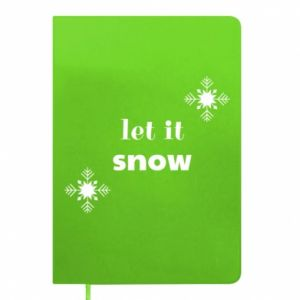 Notepad Let it snow