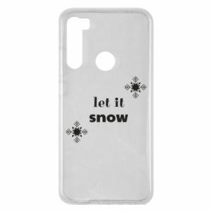 Etui na Xiaomi Redmi Note 8 Let it snow