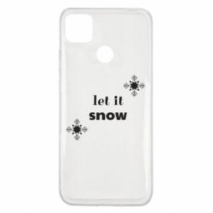 Etui na Xiaomi Redmi 9c Let it snow