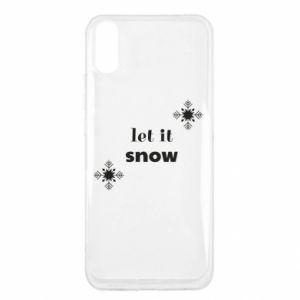 Etui na Xiaomi Redmi 9a Let it snow