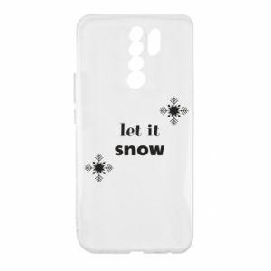 Etui na Xiaomi Redmi 9 Let it snow