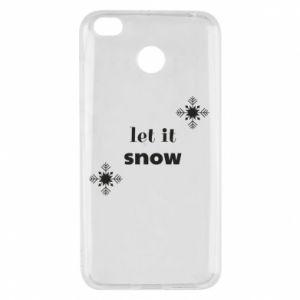 Etui na Xiaomi Redmi 4X Let it snow