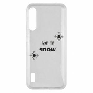 Etui na Xiaomi Mi A3 Let it snow