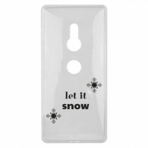 Etui na Sony Xperia XZ2 Let it snow