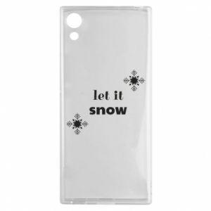 Etui na Sony Xperia XA1 Let it snow