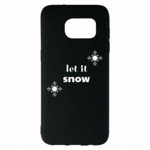 Etui na Samsung S7 EDGE Let it snow