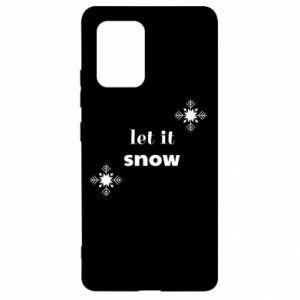 Etui na Samsung S10 Lite Let it snow