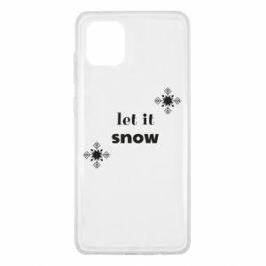 Etui na Samsung Note 10 Lite Let it snow