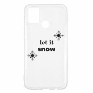 Etui na Samsung M31 Let it snow