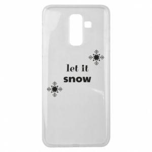 Etui na Samsung J8 2018 Let it snow