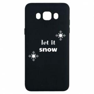 Etui na Samsung J7 2016 Let it snow