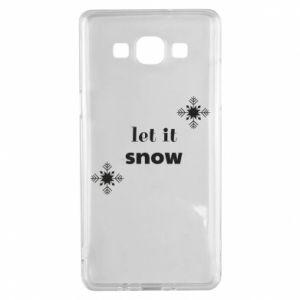 Etui na Samsung A5 2015 Let it snow