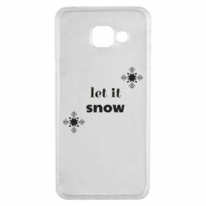 Etui na Samsung A3 2016 Let it snow