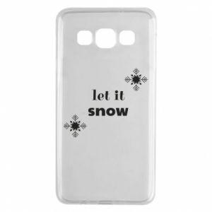 Etui na Samsung A3 2015 Let it snow