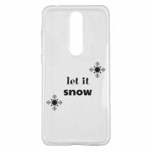 Etui na Nokia 5.1 Plus Let it snow